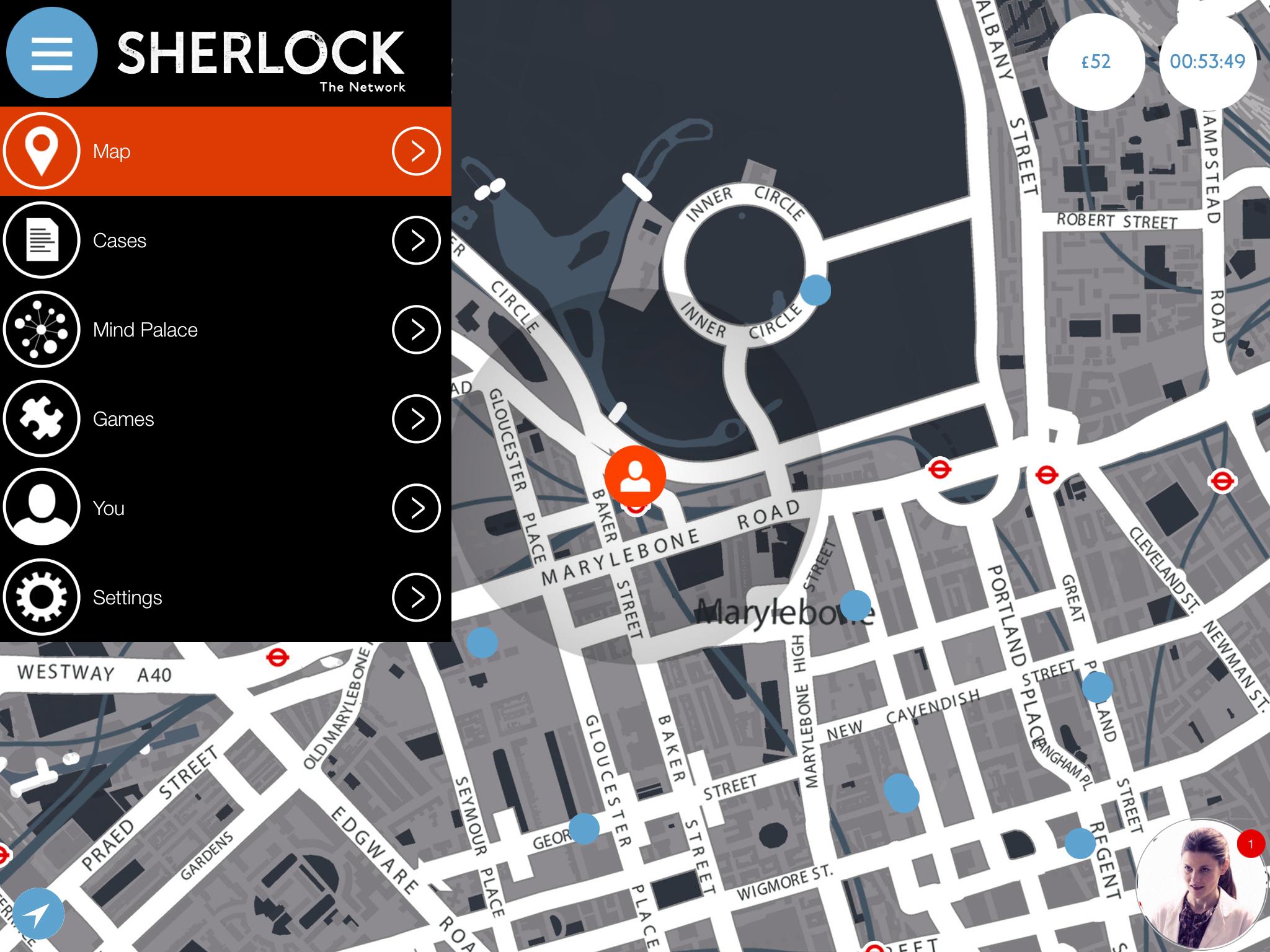 SHERLOCKAPP_iPad_menu
