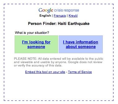 Finder person