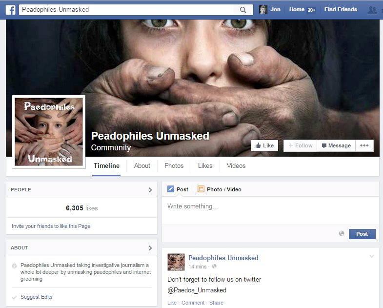 Peadophiles unmasked