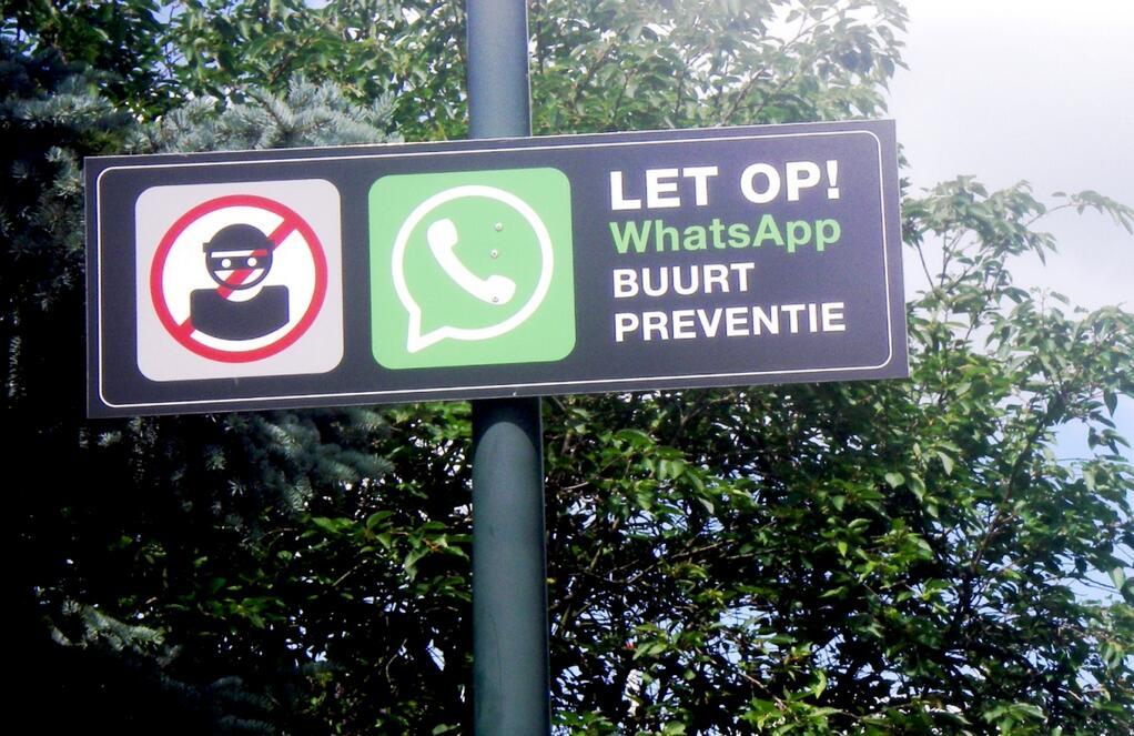whatsapp buurt