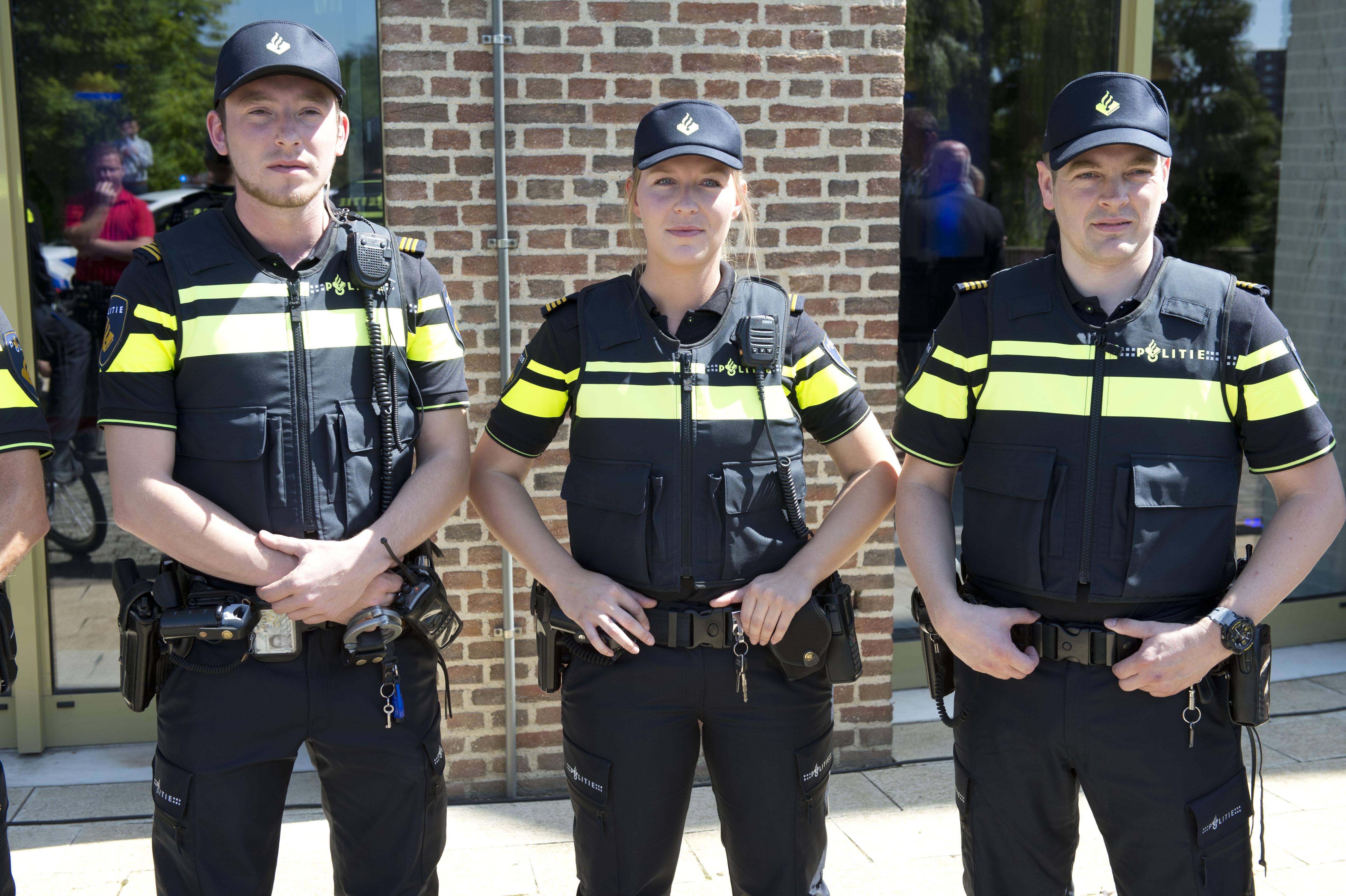 Presentatie nieuw politieuniform