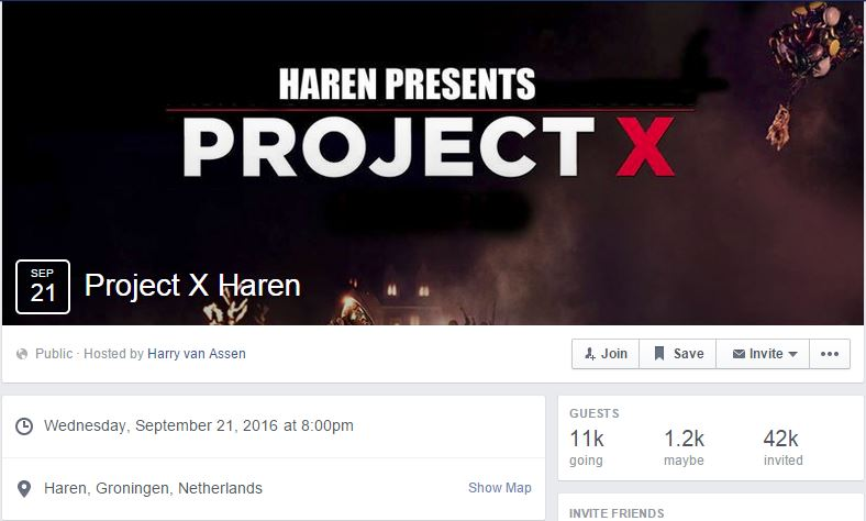 project x 2016