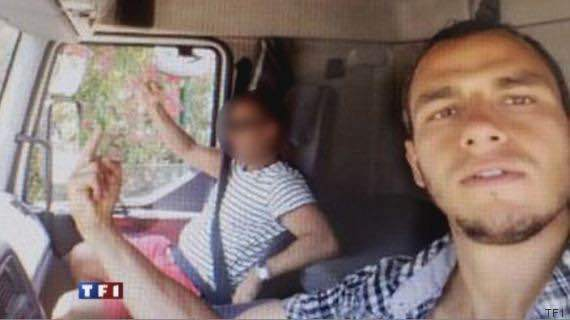 Two selfies have been released to French tv from prosecutors in Paris. Nice attack