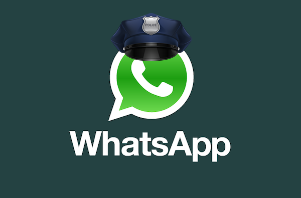 police whatsapp